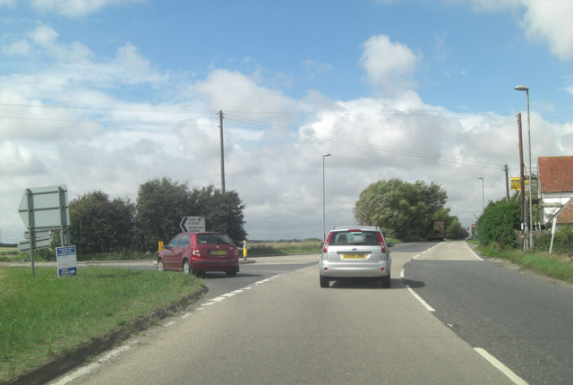 A259 at Hammond's Corner
