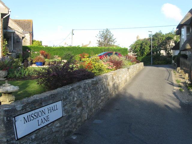 Mission Hall Lane, Sutton Poyntz