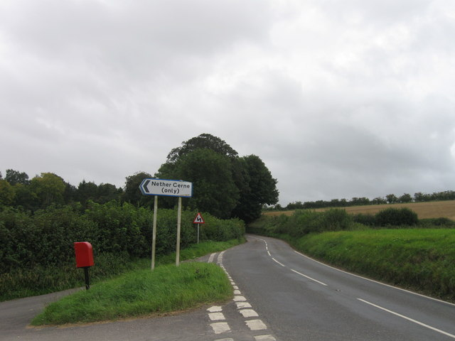 A352, turning for Nether Cerne
