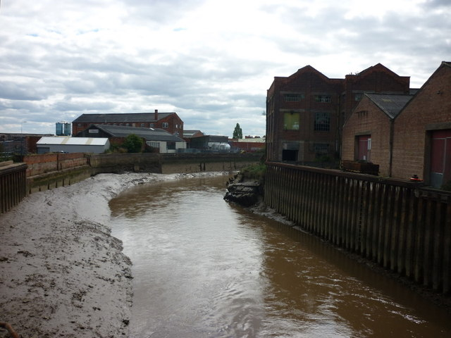 The River Hull, from Chapman Street Bridge