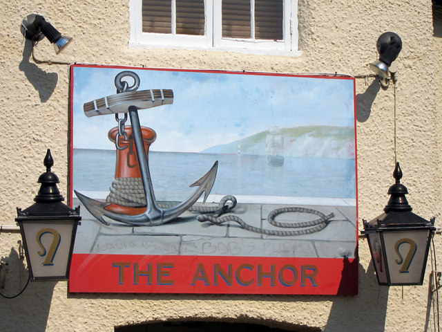 The Anchor sign