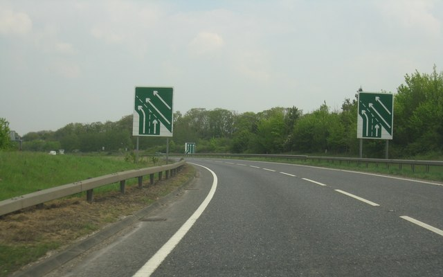 A505 joining the A11