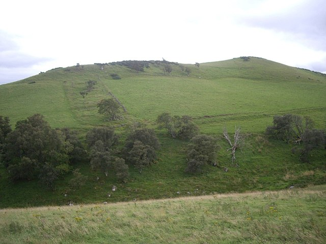 NW flank of Ord Hill