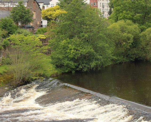 Weir on the River Ericht