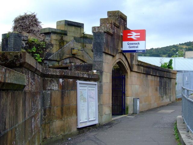 Greenock Central Station