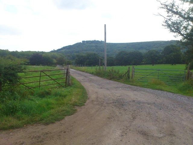 Farm entrance to Lower Chancton Farm