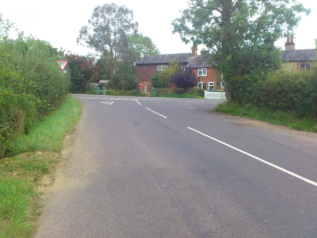 Picketty Cottages at the junction of West Chiltington Road and Coolham Road