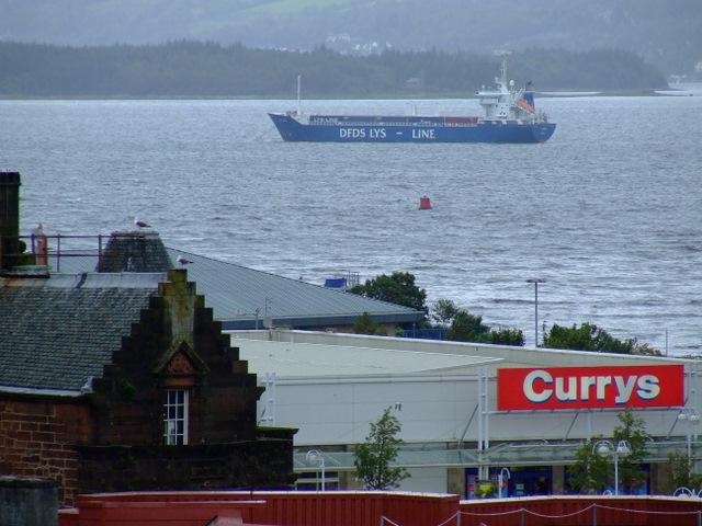 A ship off Greenock