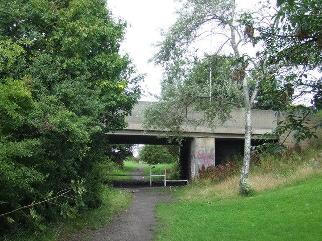 Bridge at New Herrington, near Sunderland