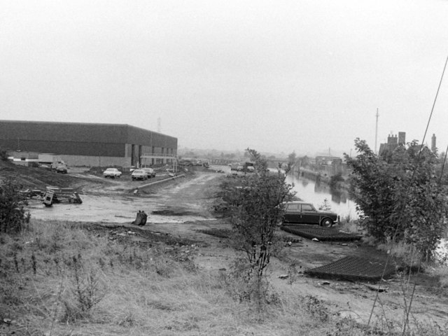 Bayer Warehouse, Stoke Works, 1983