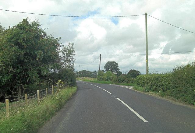 B2080 junction with Arrowhead Lane