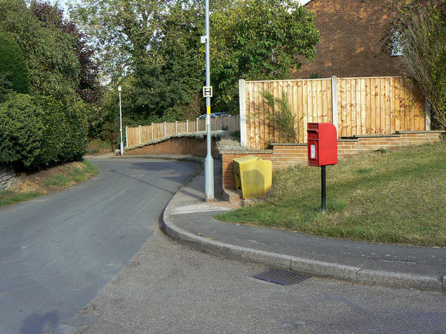 Back Lane, Cropwell Butler postbox ref NG12 263