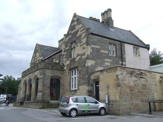 Durham station building