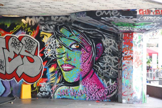 South Bank graffiti