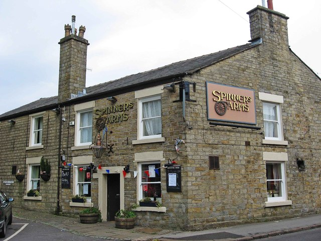 Spinners Arms (1), Hadfield Road, Hadfield