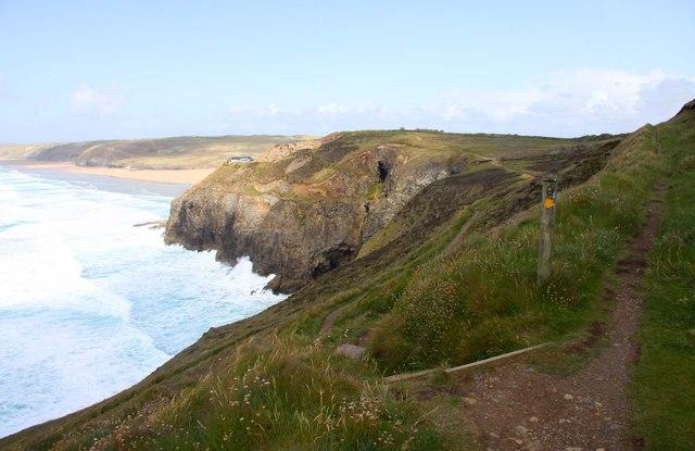 The Southwest Coast Path to Perranporth