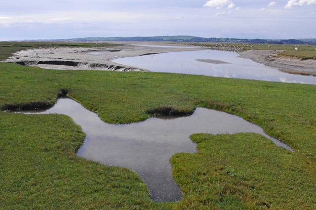 River Eea estuary at Sand Gate