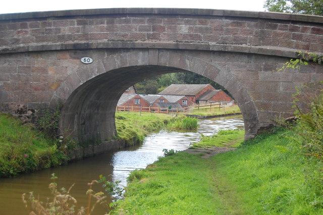 Bridge 60, Macclesfield Canal