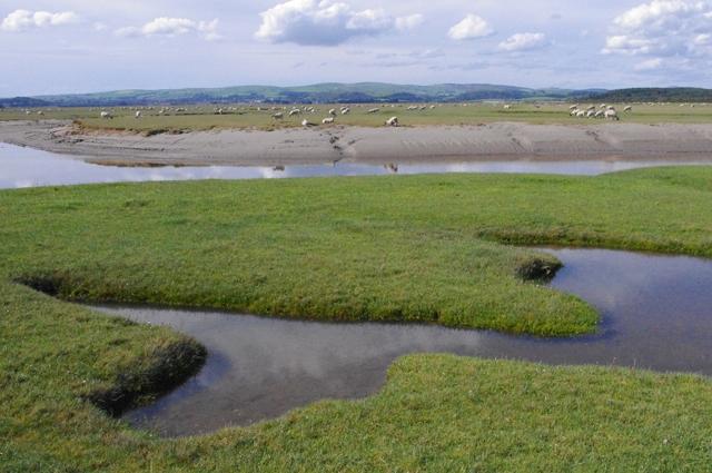 River Eea estuary at Sand Gate