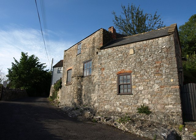 Building on Tuttors Hill, Cheddar