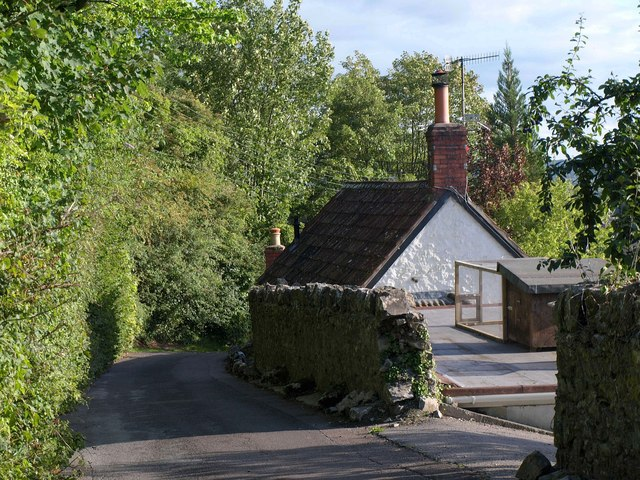Cottage above Cheddar