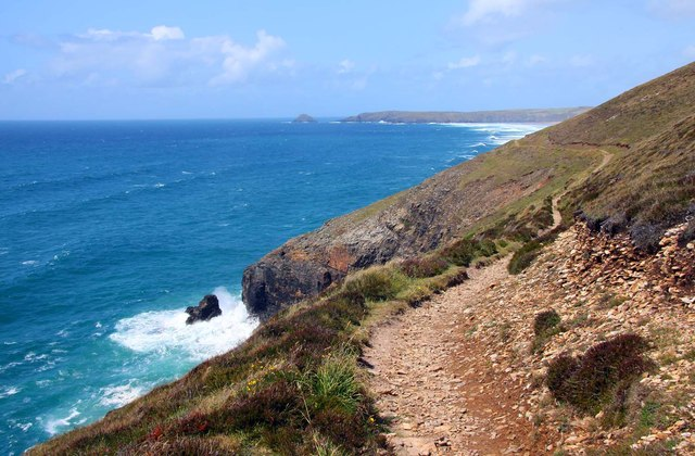 The Southwest Coast Path to Perranporth