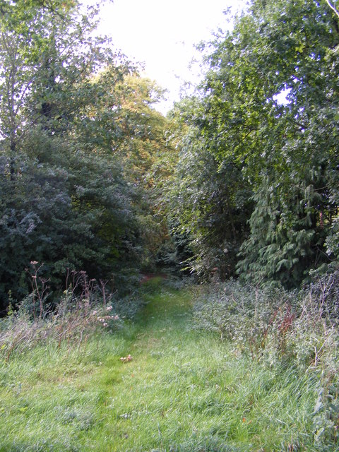 Byway to the B1079 Helmingham Road