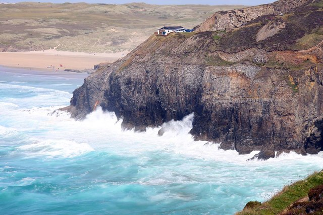 Cliffs on Droskyn Point