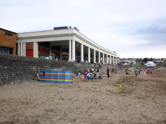 The beach, Barry Island