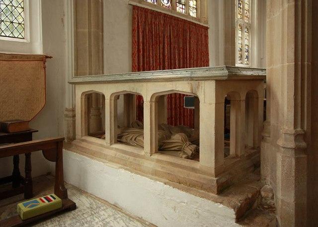 St Nicholas, Denston - Tomb