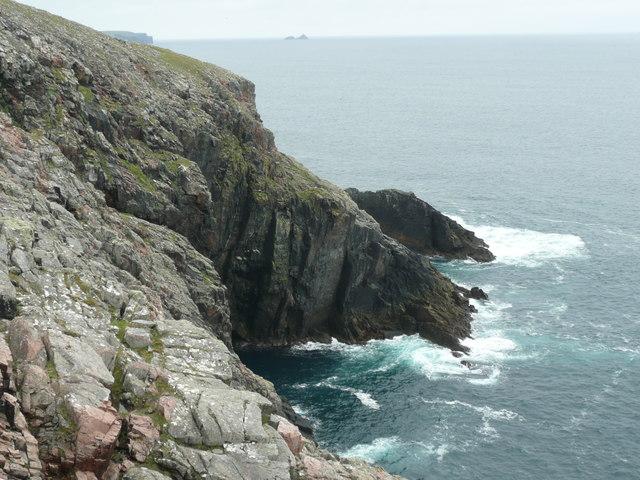Cliffs north of Cleras Geo