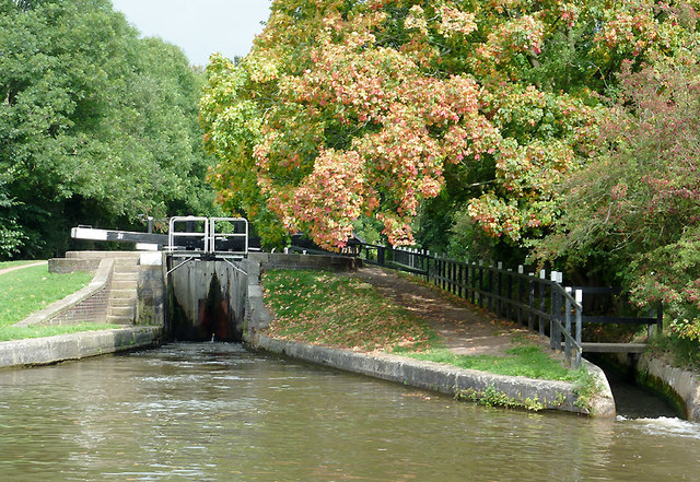 Meaford Bottom Lock, Staffordshire