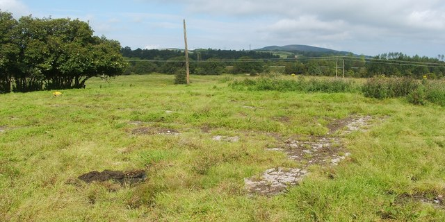 Site of Mains of Cardross Farm