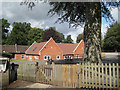 SP2479 : Berkswell C of E Primary School and playground  by Robin Stott