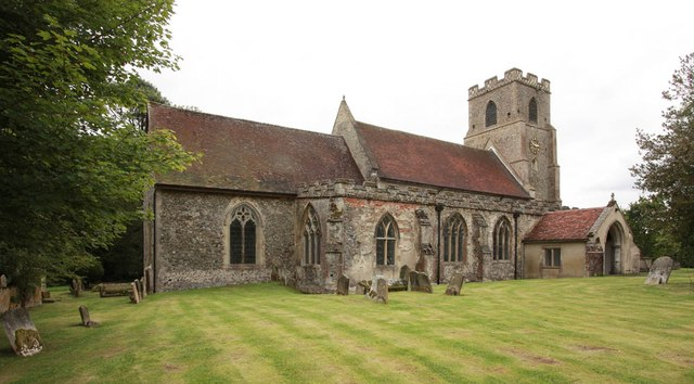 All Saints, Wickhambrook