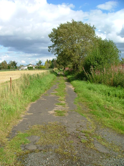 Old road to Clathymore
