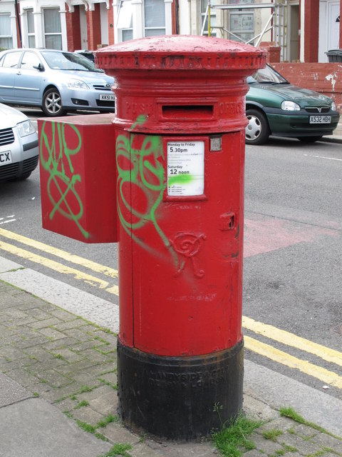 Victorian postbox, Balmoral Road / Lechmere Road, NW2