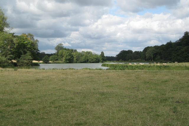 Lower end of the lake, Berkswell estate