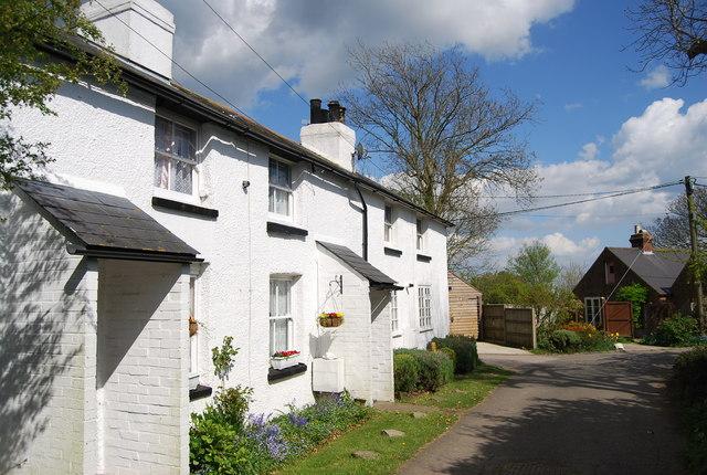 Terrace of houses, Parsonage Lane