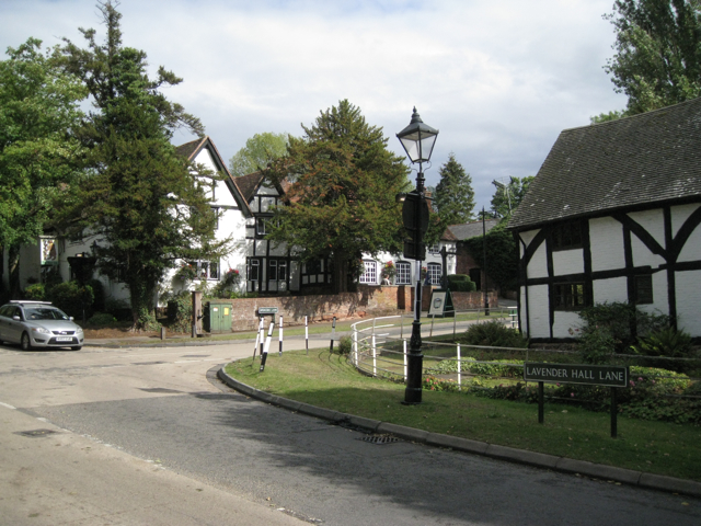 Black and white buildings, Berkswell