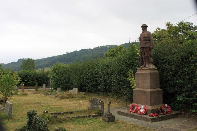 Stokesay war memorial