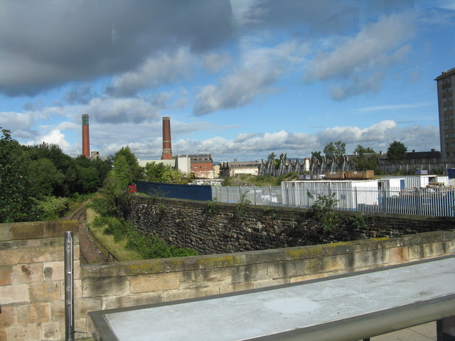 Shrubhill bus and tram depot - derelict