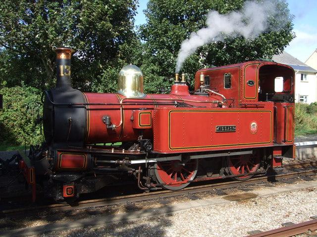 Locomotive 13 - Kissack - at Colby Station