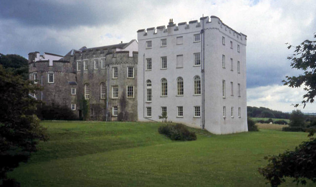 Picton Castle - North Elevation