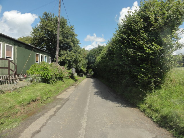 Selsted, Wootton Lane near Primary School