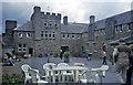 SN0113 : Picton Castle - Courtyard by Trevor Rickard