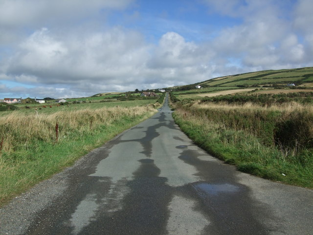 Minor road to A15 at Niarbyl