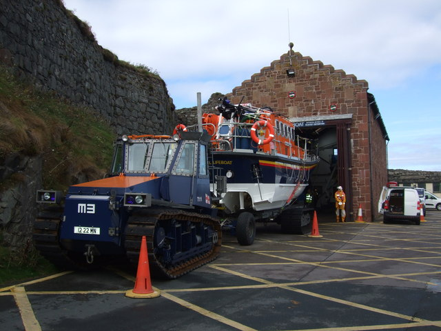 Peel lifeboat and station