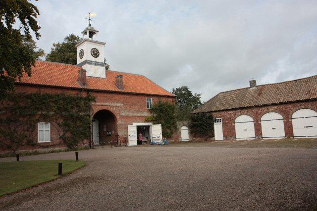 Gunby Hall Gateway and Courtyard
