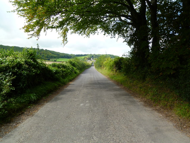 Hilton, country road